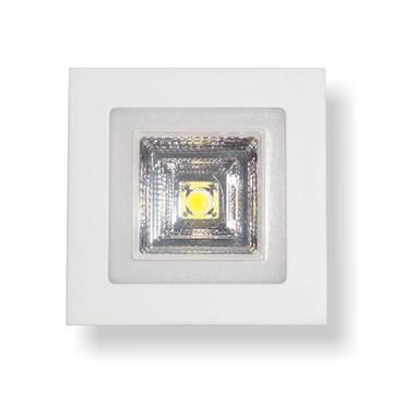 Εικόνα της ΧΩΝΕΥΤΟ LED ΤΕΤΡΑΓΩΝΟ 12 WATT SMD -COB 550LM  ΛΕΥΚΟ