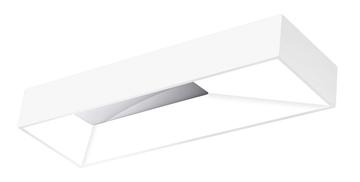Εικόνα της Ceiling Lamp White Aluminium  Acrylic LED 56W 3000K  L H