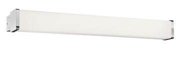 Εικόνα της Opal Glass Chrome Aluminium E14 3x40 Watt 230 Volt IP44 Bulb Exc