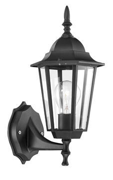 Εικόνα της OUTDOOR LIGHT IP43 H36 W15 BLACK E27