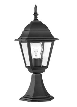 Εικόνα της OUTDOOR LIGHT IP43 H42,5 W15CM BLACK