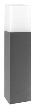 Εικόνα της Dark Gray Aluminium White Acrylic E27 1x16 Watt L 7.6 W 7.6 H 25 cm IP54