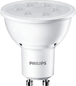 Εικόνα της Λάμπα led Philips 3.5W GU10 840 36