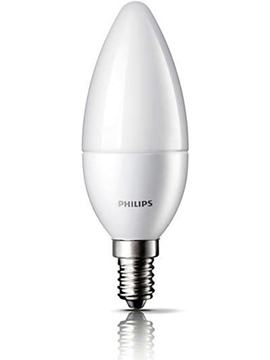 Εικόνα της Λάμπα led Philips 5.5W E14 840 CANDLE