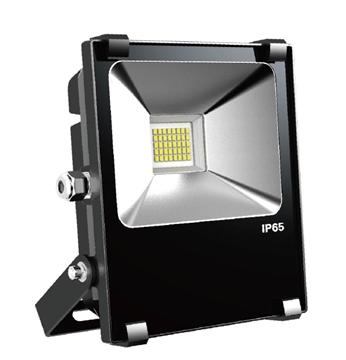 Εικόνα της Προβολέας Smd Led 20W 220V 3000K Μαύρος IP65 Orion