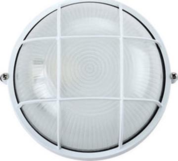 Εικόνα της Φωτιστικό Χελώνα Ε27 40W Πλαστική Λευκή IP54