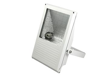 Εικόνα της Προβολέας HQI 150W Tυπου S Λευκός Με Clips IP65