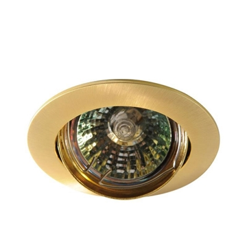 Εικόνα της Spot Κινητό 12V Φ75 Χρυσό Σατινέ