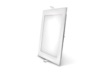 Εικόνα της Panel led 12w τετράγωνο 4200Κ χωνευτό 155X155mm Lambario