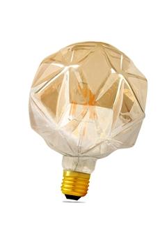 Εικόνα της Λάμπα led γλόμπος FL95 4w Ε27 filament διάφανη 2700K Lambario
