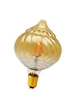 Εικόνα της Λάμπα led γλόμπος LM125 4w Ε27 filament διάφανη 2700K Lambario