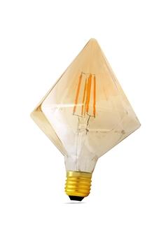 Εικόνα της Λάμπα led πυραμίδα CR110 4w Ε27 filament διάφανη 2700K Lambario