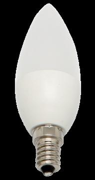 Εικόνα της Λάμπα led κερί 7w E14 6.400K