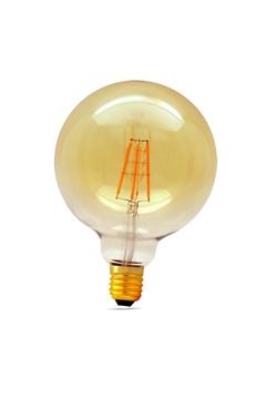 Εικόνα της Λάμπα led γλόμπος G125 8w Ε27 filament διάφανη 2700K Lambario