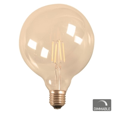 Εικόνα της ΛΑΜΠΑ E27 G95 7WATT FILAMENT 2200K DIMMABLE IP20