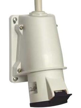 Εικόνα της PratiKa ρευματοδότης επίτοιχος 16A - 3P + E - 480...500 V AC