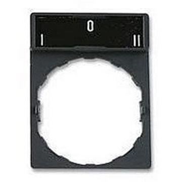Εικόνα της Harmony XB4 θήκη 30 x 40mm με ετικέτα 8 x 27mm - με σήμανση I-O-II