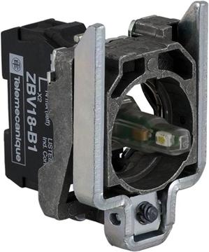 Εικόνα της Harmony XB4 φωτιζόμενο στοιχείο με σώμα/κολάρο στήριξης για λυχνία BA9s 250V