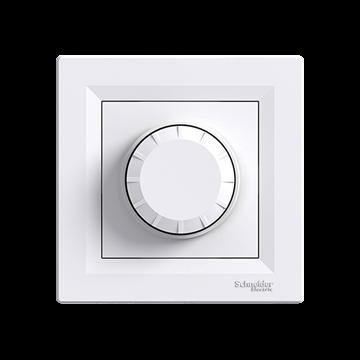 Εικόνα της Asfora περιστροφικό dimmer αλέ-ρετούρ 40-600W  Λευκό