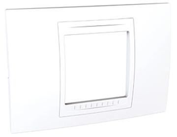 Εικόνα της Unica Allegro πλαίσιο 2 στοιχείων Λευκό