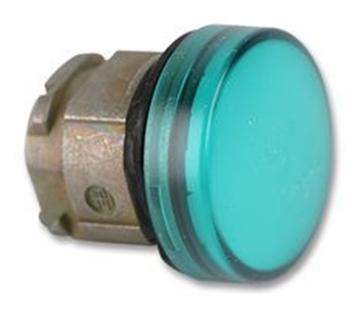 Εικόνα της Harmony XB4 κεφαλή ενδεικτικής λυχνίας O22 LED με διαφανές καπάκι - Πράσινο