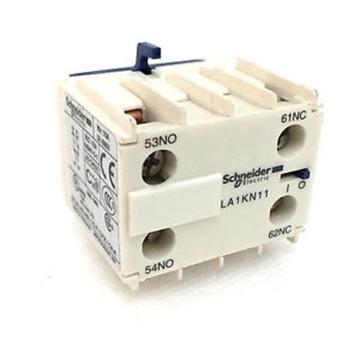 Εικόνα της TeSys Κ - μπλοκ βοηθητικών επαφών - 1 NO + 1 NC - ακροδέκτες βίδαςinals