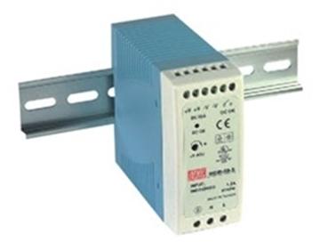 Εικόνα της Τροφοδοτικο Ραγας 60W/24V/2.5A Mini Mdr60-24 Mean Well