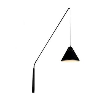 Εικόνα της ΑΠΛΙΚΑ ΤΟΙΧΟΥ Φ16 FISHING ΜΑΥΡΗ 1xE27 LED