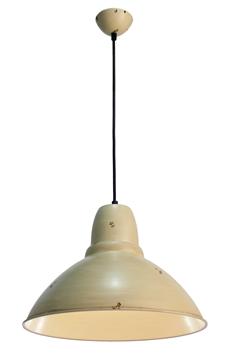 Εικόνα της Φωτιστικό Kρεμαστό Μονόφωτο Μπεζ E27 60W Levi Viokef V