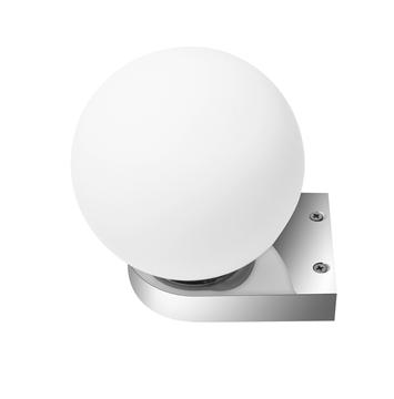 Εικόνα της Opal Glass Chrome Aluminium G9 28 Watt 230 Volt IP44 Bulb Exclud