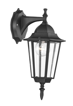 Εικόνα της OUTDOOR LIGHT BLACK E27 1X100W H42