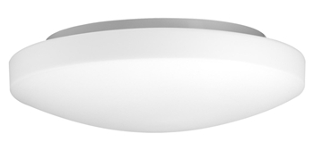 Εικόνα της Ceiling Light  IP44 White Opal Glass E27 2x60W  D  H
