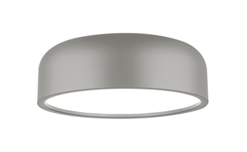 Εικόνα της Ceiling Light  Out.Matt Grey Steel-In.Matt White Steel E27 3x60W D H