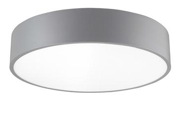 Εικόνα της Gray Aluminium Acrylic Diffuser LED 40 Watt 230 Volt 2500Lm 4000K IP20 D 50 H 10 cm