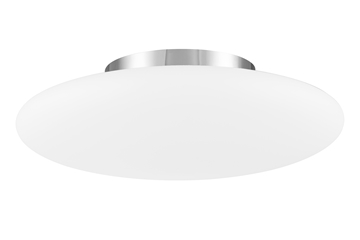 Εικόνα της Ceiling Light  Opal Glass  Matt White Metal  E27 3x60W  D H