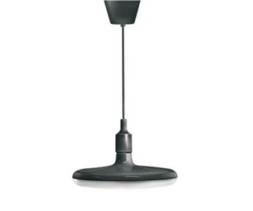 Εικόνα της Φωτιστικό Μαύρο Κρεμαστό Κυκλικό 32W E27 3000Κ D26