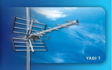 Εικόνα της ΨΗΦΙΑΚΗ ΚΕΡΑΙΑ TV YAGI L 7 21/69 CONDOR