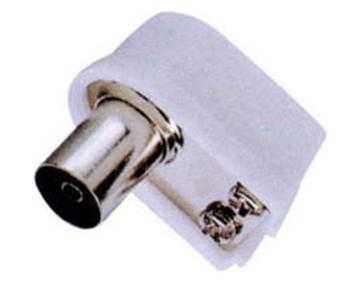 Εικόνα της Pal Θηλυκο 9.5Mm² (Tv) Πλαστικο Screw Type Γωνια N014F (Tv038) Lz