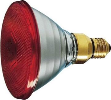 Εικόνα της Λάμπα Πυράκτωσης Par38 80W Κόκκινη