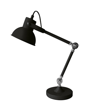 Εικόνα της Black Metal E14 1x40 Watt 230 Volt IP20 Bulb Excluded D 34 H 50 cm