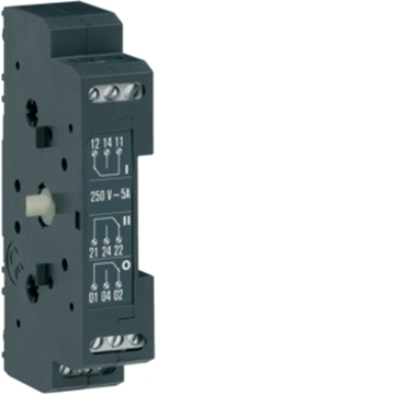 Εικόνα της Βοηθητική Επαφή 1NO+1NC 5Α-250V Για Hicxxxa Hager