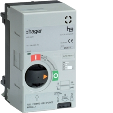 Εικόνα της Μοτέρ Για Ηλεκτρικό On/Off Από Απόσταση X250 Hager
