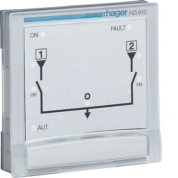 Εικόνα της Πάνελ 96X96 Ελέγχου-Απεικόνισης Πηγών Διακόπτη  Hager