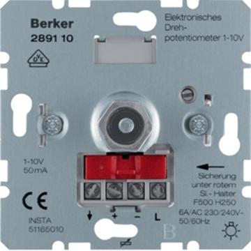 Εικόνα της Berker Ρυθμιστής Φωτισμού  1-10V Ηλεκ. Μ/Σ Hager