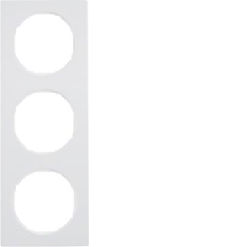 Εικόνα της Berker Πλαίσιο 3Θ. Λευκό R.3 Hager