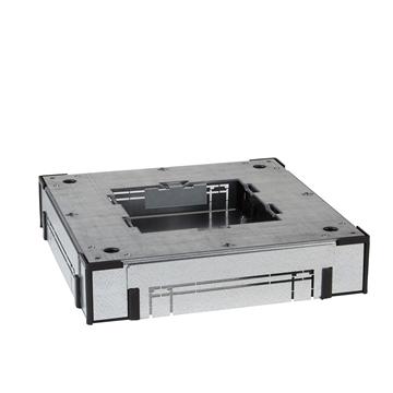 Εικόνα της OptiLine 45 χωνευτό ατσάλινο κουτί ενδοδαπέδιας τοποθέτησης τετράγωνο 200mm