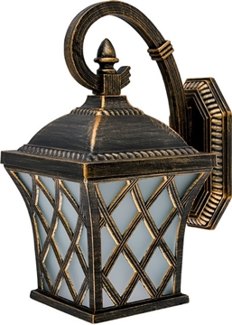 Εικόνα της JOSH 402 LANTERN DOWN 1XE27 ANTIQUES BRASS