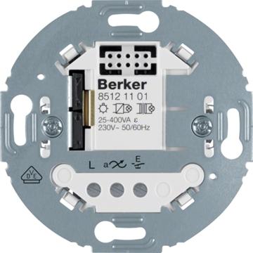 Εικόνα της Berker Μηχανισμός Ελέγχου Φωτισμού 1εξ. 400W/70W Led 1930/R.Clas