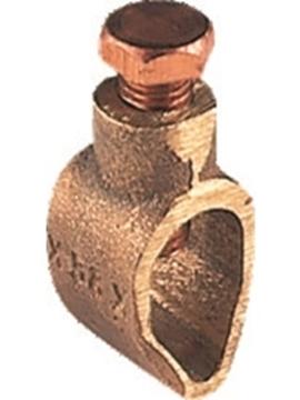 Εικόνα της Σφιγκτήρας γείωσης Αγωγού 17mm Ορείχαλκου