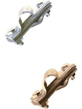 Εικόνα της Σφιγκτήρας σύνδ. αγωγών Φ16 με ταινίες εως 60mm διαστ. 90x30 Cu